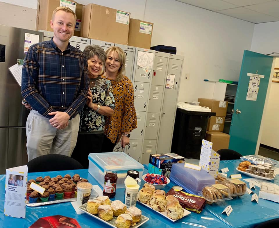 Cancer Council's Biggest Morning tea